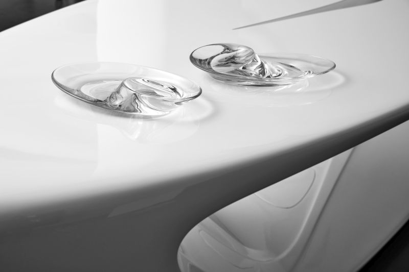 Swirl Bowl by Zaha Hadid Design