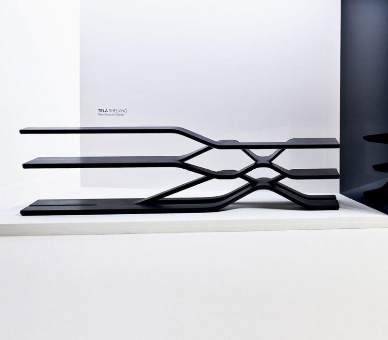 Tela shelving by Zaha Hadid Design