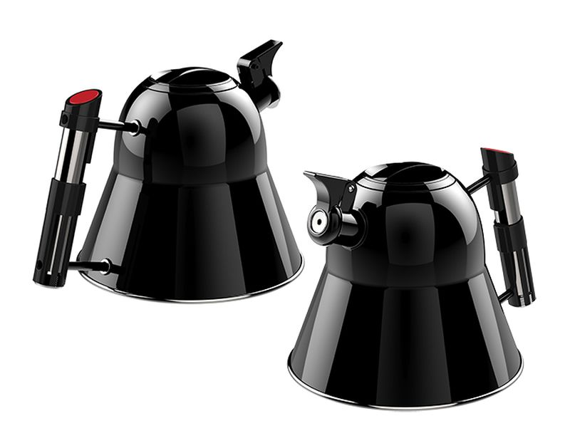 The Force is Strong with This Star Wars Darth Vader Helmet Kettle