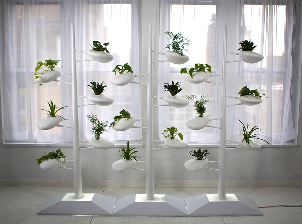 Vertical Hydroponic Garden by Danielle Trofe Design