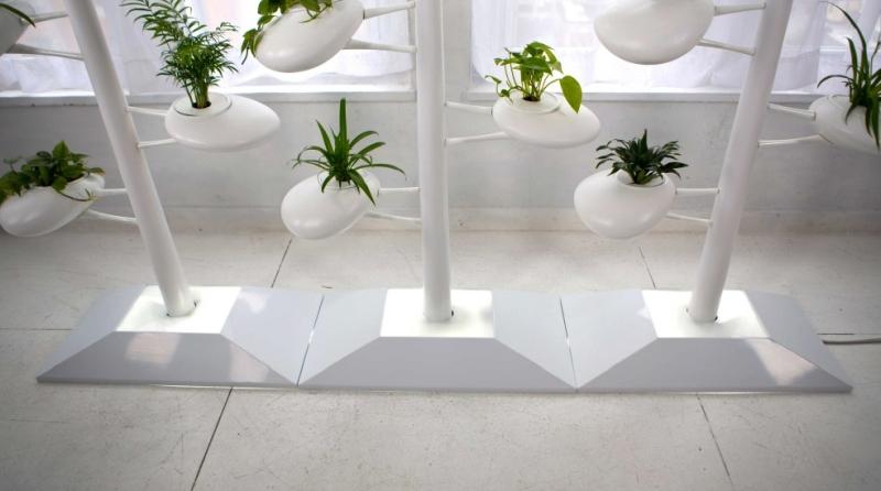 Vertical Hydroponic Garden by Danielle Trofe Design