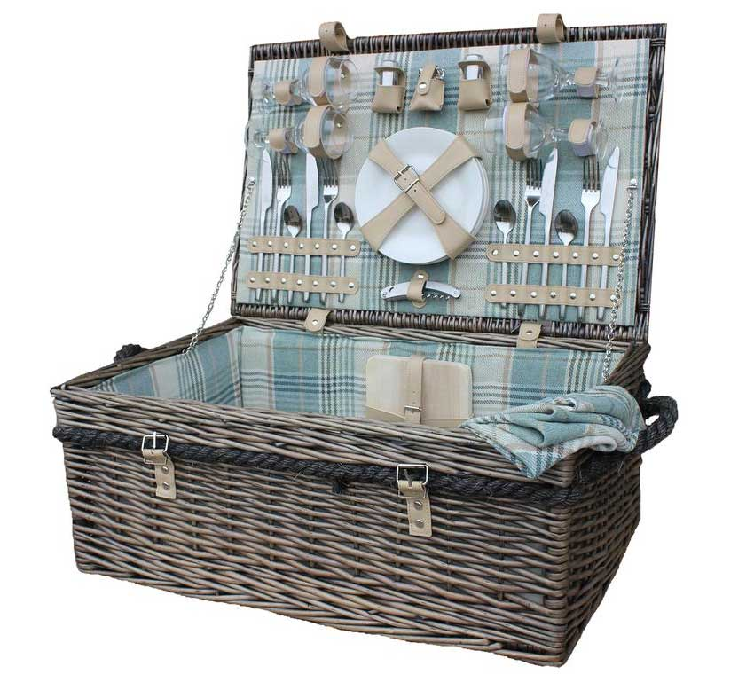 4-Person-Rope-Handled-Picnic-Basket