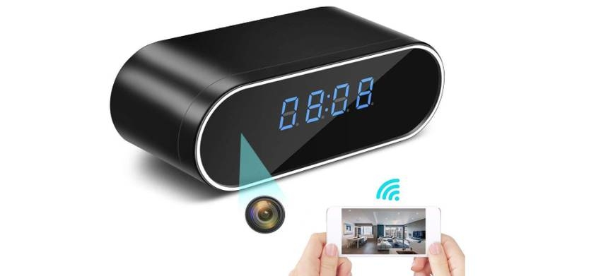 AIYU Wireless Spy Camera Alarm Clock