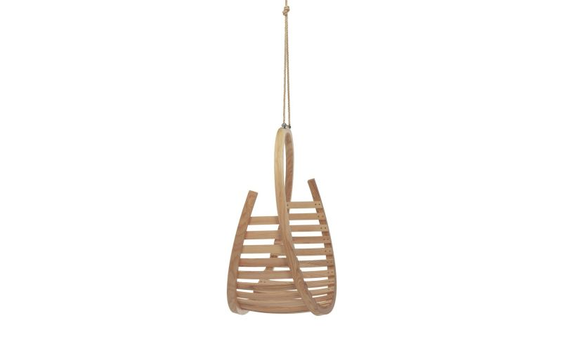 Amble Hanging Chair by Tom Raffield