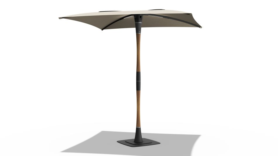 Blossom Smart Patio Umbrella by ShadeCraft Robotics