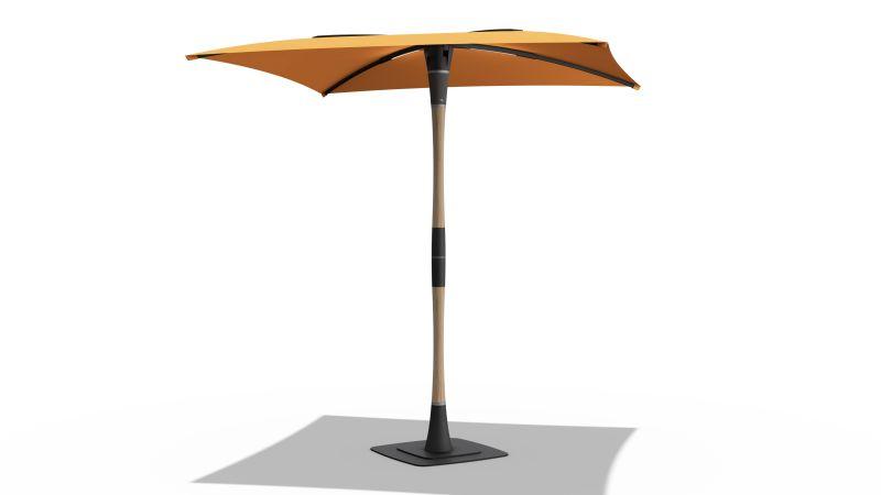 Blossom Smart Patio Umbrella by ShadeCraft Robotics