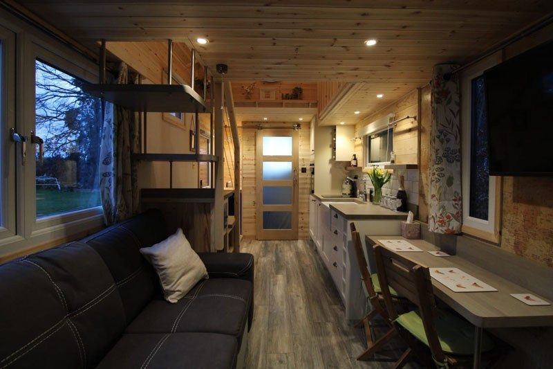 Chris Marsh Saves On Monthly Bills by Shifting to Self-Built Tiny House on Wheels