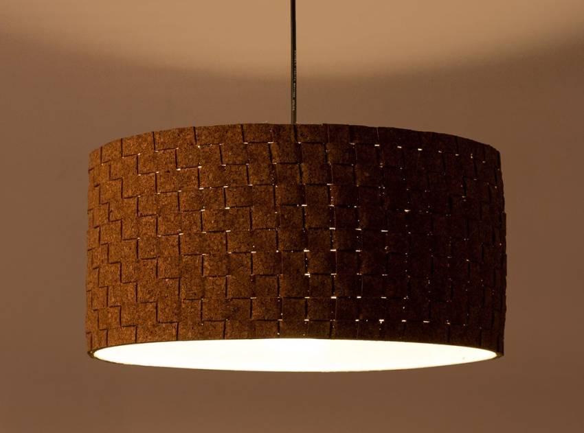 Eco-friendly Cork Weaved Drum by Oorjaa
