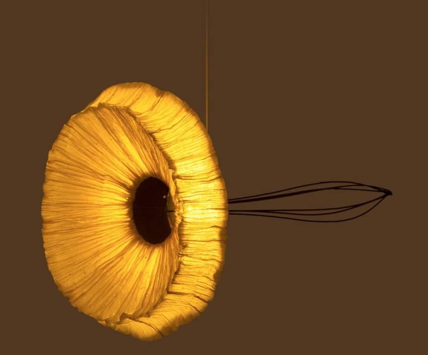 Oorjaa eco-friendly Dandelion pendant lamp