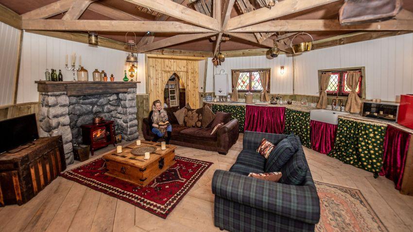 Hagrid's Hogwarts Hut in North Yorkshire for Harry Potter Fans