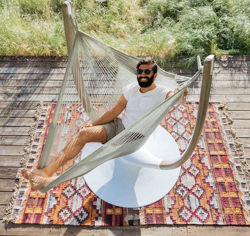 Hammock Throne