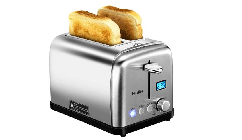 Holife 2 Slice Bread Toaster
