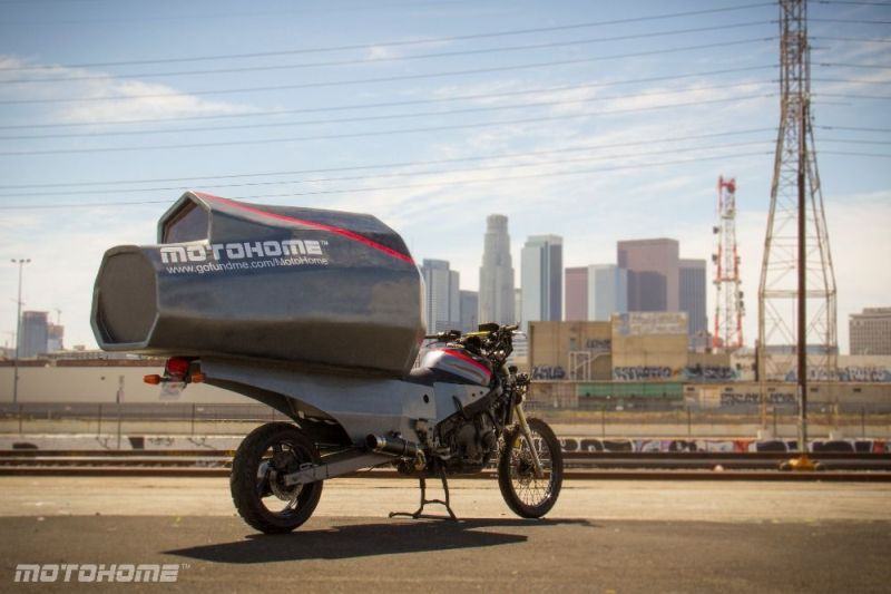 Jeremy Carman Builds Off-Road Motorcycle Shelter