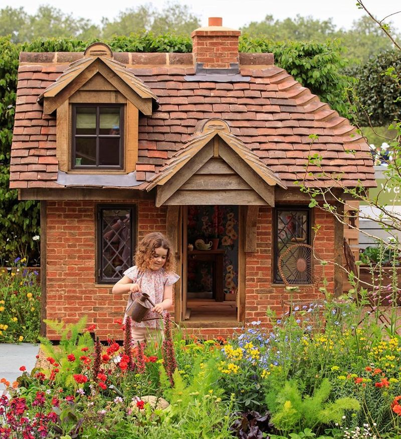 Life-Size Playhouse at RHS Chelsea Flower Show 2019