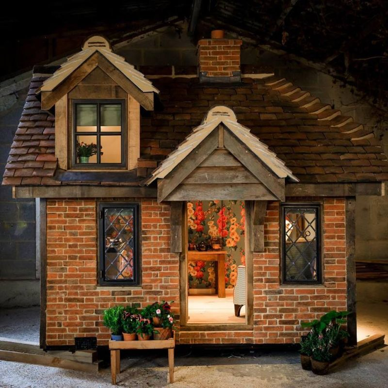 Life Sized Playhouse At Rhs Chelsea Flower Show 2019