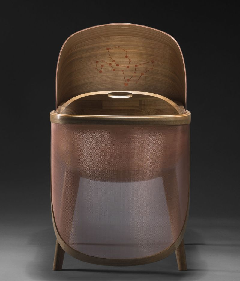 Noir Vif Creates Argo Crib Protects Babies from Electromagnetic Radiation