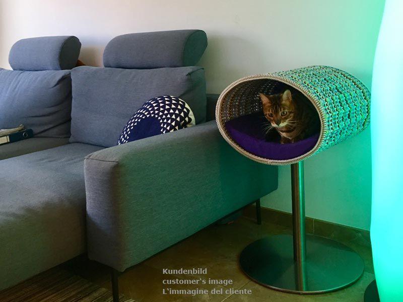 Rondo designer cat bed