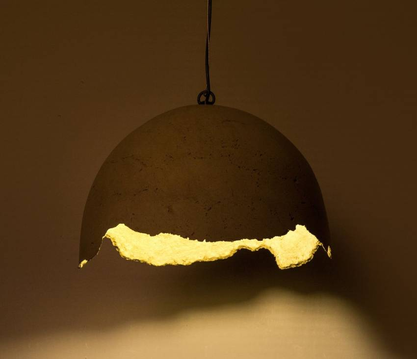 Eco-friendly Rupture Assorted Pendant Lamp by Oorjaa