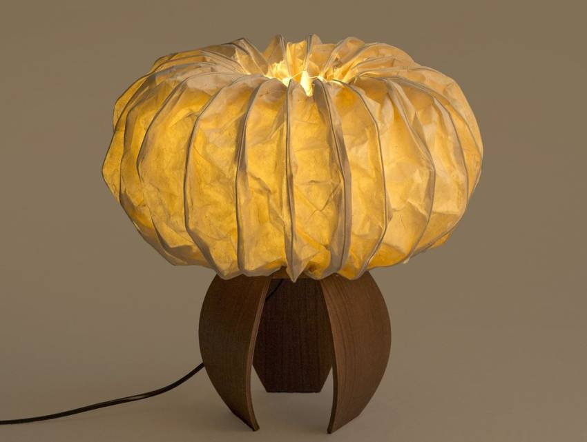 Eco-friendly Sea Urchins Table Lamp by Oorjaa