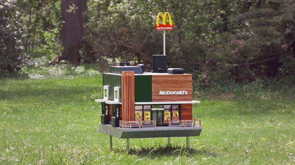 Smallest McDonald's in The world is Meant for Bees
