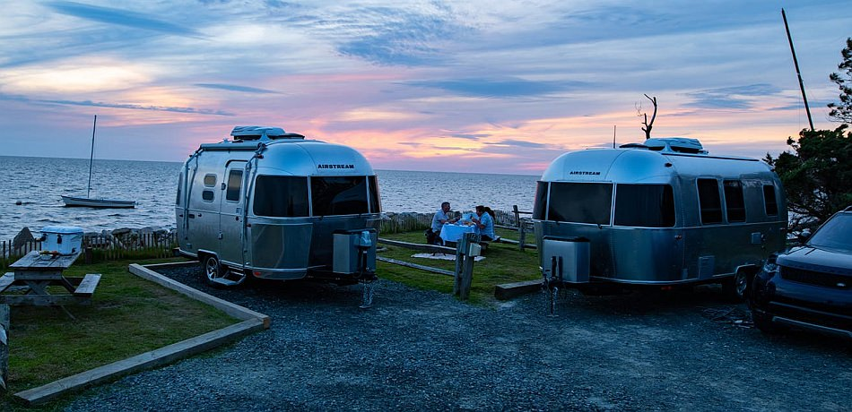 Airstream Bambi and Caravel Easy-to-Tow Travel Trailers