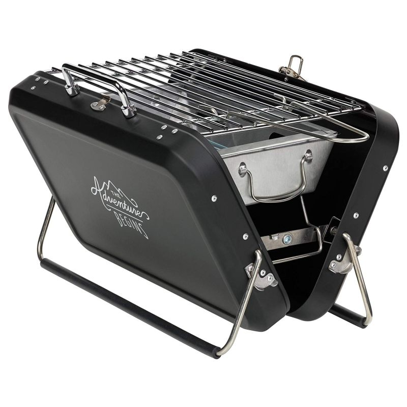 Gentlemen's Hardware Suitcase Style Barbecue Grill