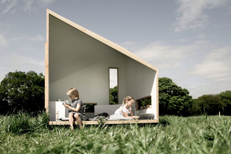ILO Play Cabin by KOTO Design Connects Children with Nature