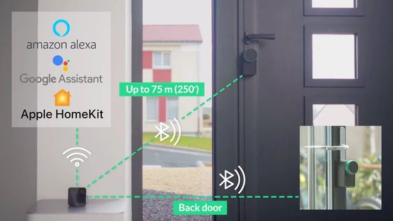 Keymitt Smart Lock TurnR Your Existing Door Lock Smart