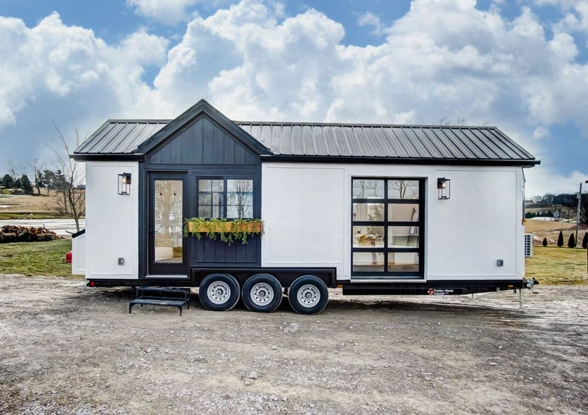 Tiny Home Designs: Modern Tiny Living Builds 100K Tiny House On Wheels For