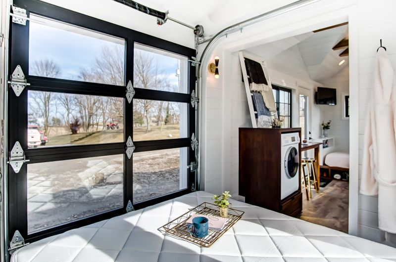 Custom-built by tiny home builder Modern Tiny Living