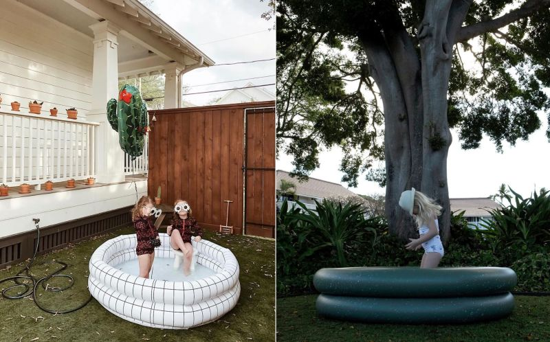 Mylle's Modern Inflatable Pools are for Kids, Adults as Well