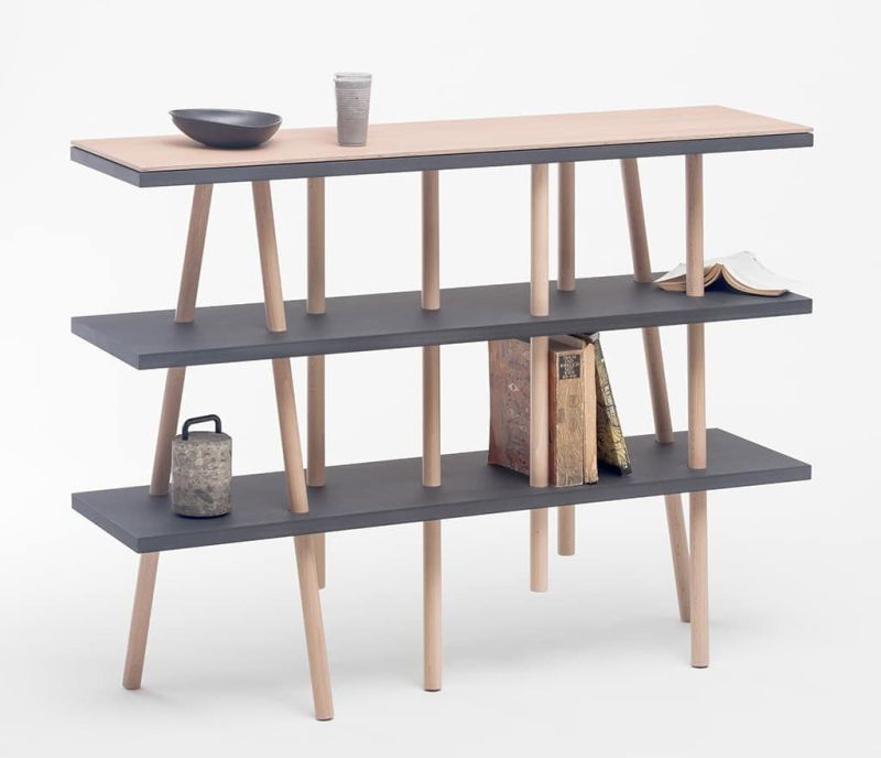 ORTO 53 Shelf by Zweithaler Assembles Without any Tools