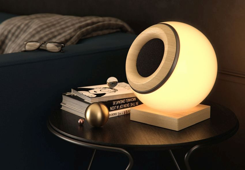 Oupio Bluetooth Speaker & Smart Lamp