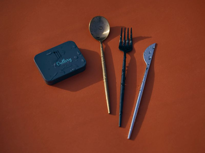 Outlery Cutlery and Chopsticks Fit into a Pocket-Sized Box