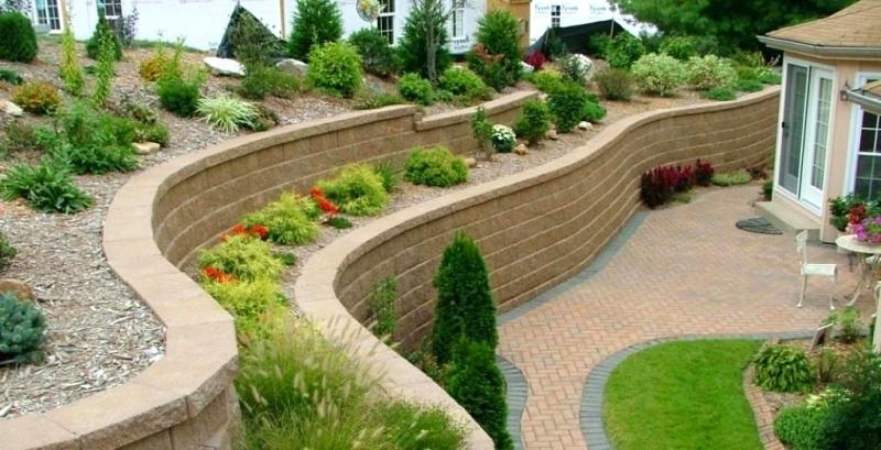 Retaining Walls for Backyard