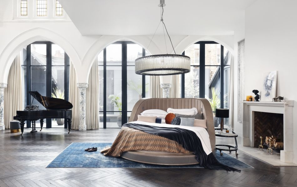 Savoir Three Sixty Bed Rotates 360-Degrees to Provide Perfect Viewing Angle