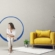 Schweben Hanging Chairs by Omar Idriss Made in Square, Circle and Triangle Shapes