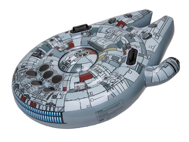 SwimWays' Millennium Falcon Pool Float is Ideal Summer Gift for Star Wars Fans