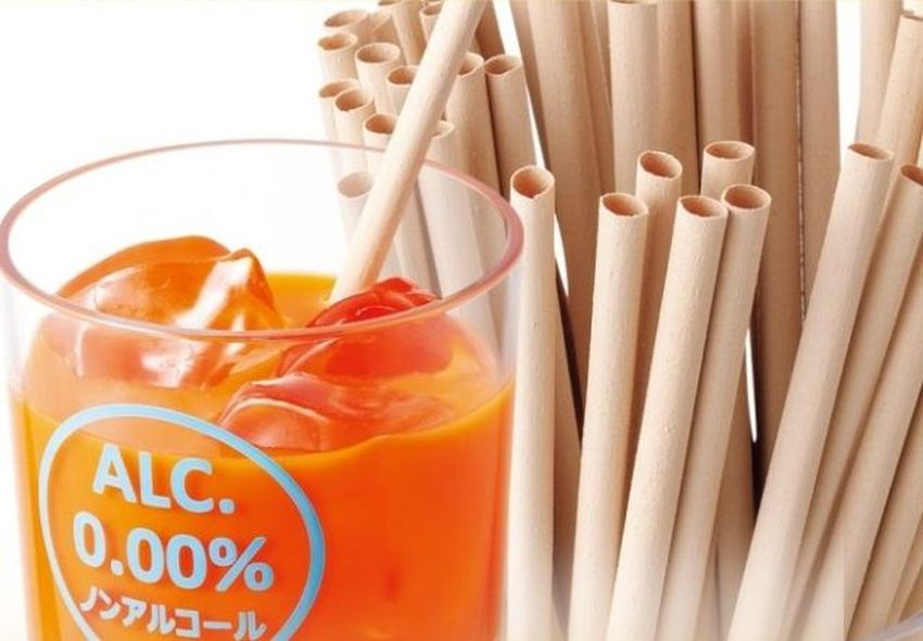Take Straws by Japanese restaurant