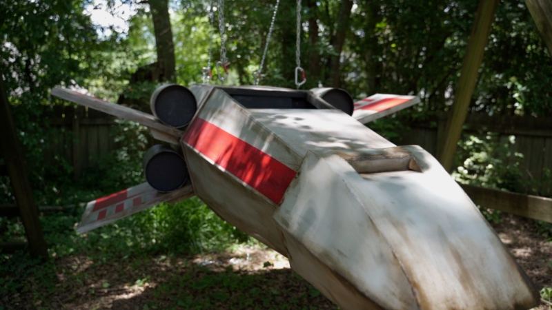 X-Wing Swing - DIY