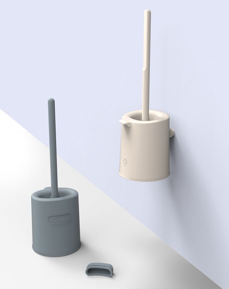 bbb La Brosse : The Eco-Designed Toilet Brush by Biom Paris
