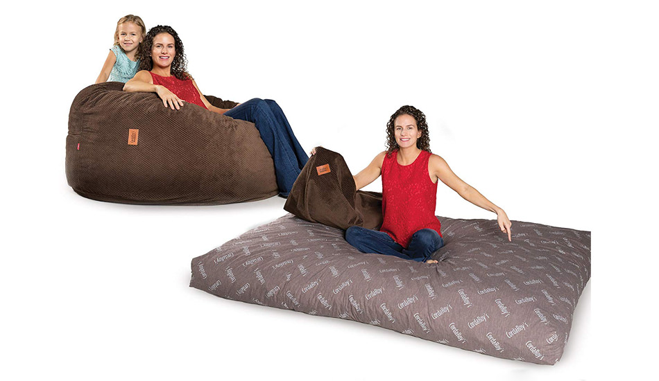 Awe Inspiring Cordaroys Beanbag Chair Beds Are A Must Have For Small Spaces Gmtry Best Dining Table And Chair Ideas Images Gmtryco