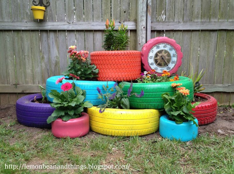 Creative planter ideas for small garden