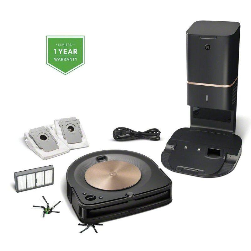 iRobot's Roomba s9+ Robot Vacuum can Pair with Braava jet m6 Robot Mop