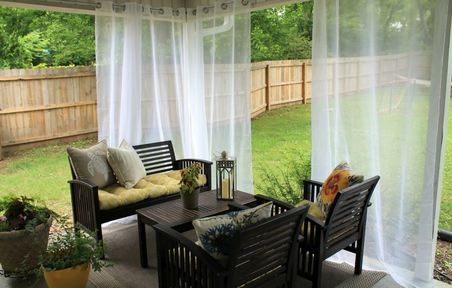 outdoor curtains design