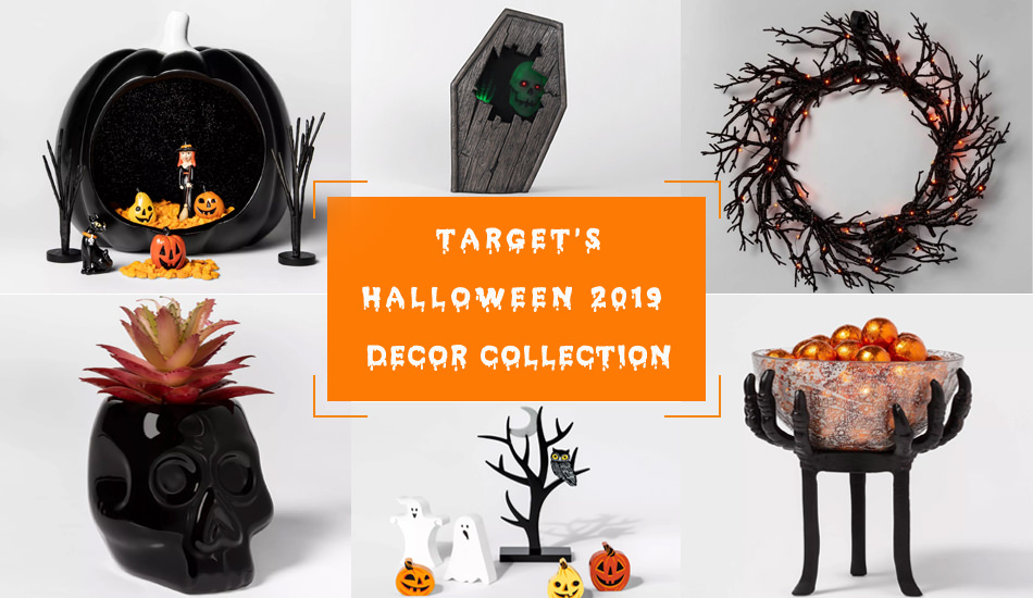 Target Unveils its Halloween Decor Collection 2019