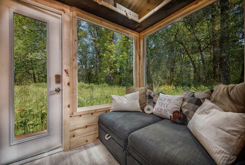 Acorn Tiny House on Wheels by Backcountry Tiny Homes