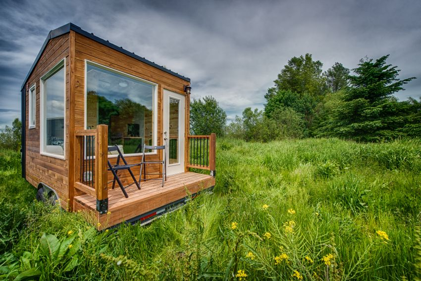 Acorn Tiny House on Wheels by Backcountry Tiny Homes