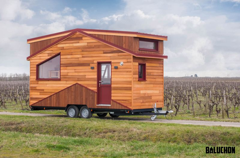 Baluchon Builds Treasure Island Tiny House for Marie and Pierrick