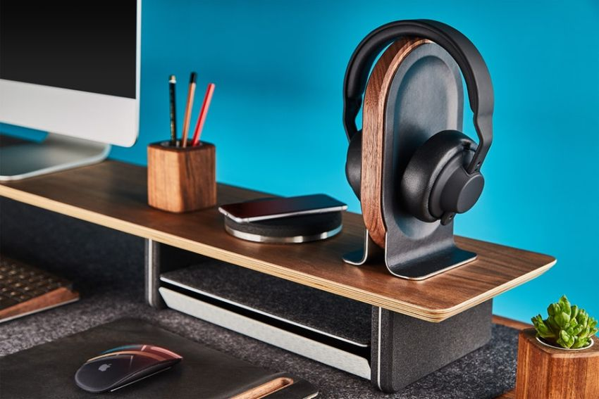 Grovemade's Wood Headphone Stand Makes Bold Statement at any Desk